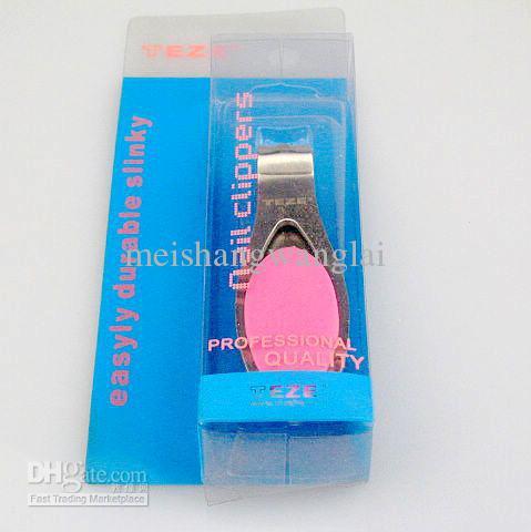 ネイルクリッパーセット43097ステンレス鋼6個6個/バッグマニキュアネイルファイルProfessional Toeネイルクリッパー