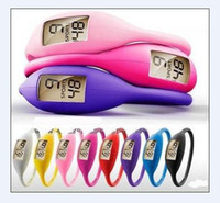 Wholesale Silicone Watch 1atm - 1000pcs Women's Fashion Watches Wrist sport digital LED watches 1ATM silicone watch with opp bag