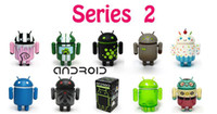 Wholesale Google Android Robot Toy - Christmas Google Speaker Android Mini Collectible Series 2 11 Robots for choosing 1set