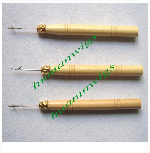 ヘアエクステンションフックツール、針を引っ張って!羽毛の髪の毛の延長ツール。