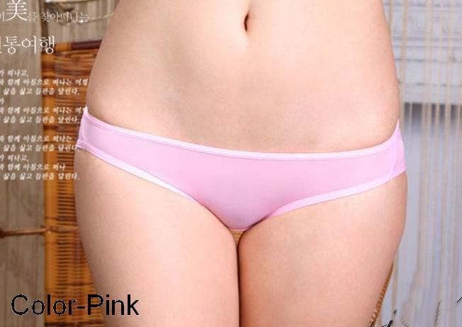 Hot sexy girl pink panties