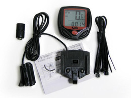 Wired Speedometer Australia - SD-548B 2016 Facotry Direct Leisure 14-Functions Waterproof New Bicycle Bike Cycle Computer Odometer Speedometer