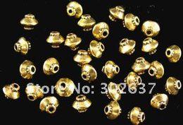 Wholesale Gold Lantern Spacer Beads - 750pcs Antiqued gold plt lantern spacer beads A256G