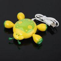 Wholesale Shaped Usb Hub - Beetle Shaped USB 2.0 4 Port Hub for PC Laptop Notebook
