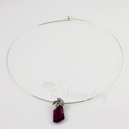 Wholesale Steel Wire Cord Necklace - Thin steel wire necklaces cord for pendants jewelry jewellery supply finding Acn011 cheap fashion jewellery