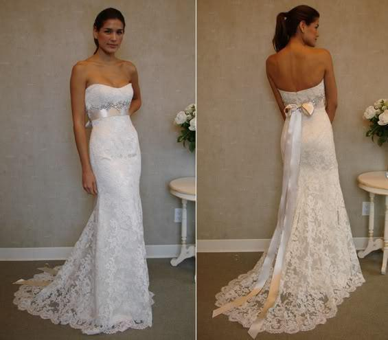 New Ivory White Lace Wedding Dresses Dress