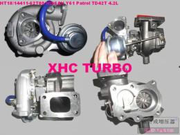 Turbocompresor para ford online-NUEVO HT18 / 14411-62T00 Turbocompresor para NISSAN Safari / Patrulla / Civil, FORD Maverick, TD42T 4.2L Diesel