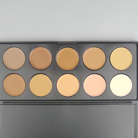 1 pz / lotto Professionale Concealer i Concealer Cream Camouflage Makeup Palatte Foundation Concealer 0.21kg