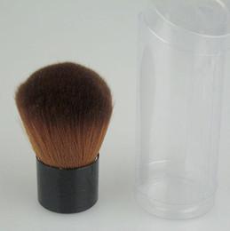 Wholesale Mushroom Kits - 6 pcs lot Brow Nylon Make Up Brushes makeup Brush Kit Mushroom-shaped brushes Foundation brush 511