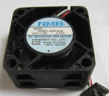 top popular NMB 1608KL-05W-B39 4020 DC24V 0.08A FANUC special Cooling fan 2021