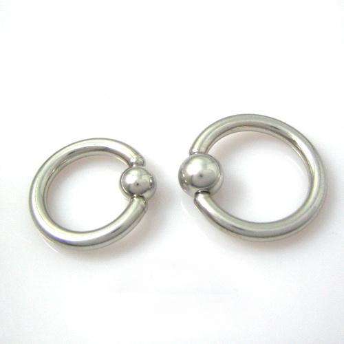 316L Surgical Steel Ball Closure Ring Mixed Size Earring Eyebrow Ring Nose Piercing Lip Ring