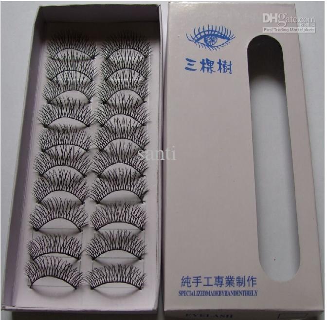 /box Beautiful Make Up Mixed Style Black false eyelashes