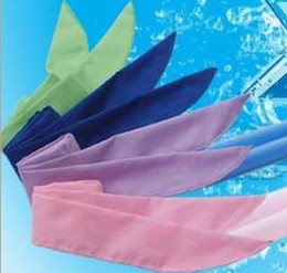Wholesale Cool Neck Scarf - NEW arrival Cold Packs Cool Bandanas Cooling Neck Sport Wraps cooler 4 colors
