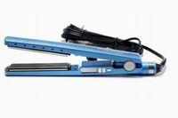 Wholesale ceramic flat curler for sale - Group buy DROP ship set baby Titanium PRO F Hair Straightener hair flat iron hair curler US EU UK AU Plug