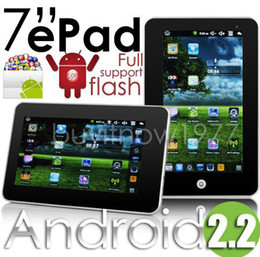 Wholesale Google Android Computer - FJKLCB CPU:800Mhz Portable Computer!Christmas promotion 7 Inch 800*480 Resolution Google Android 2.2