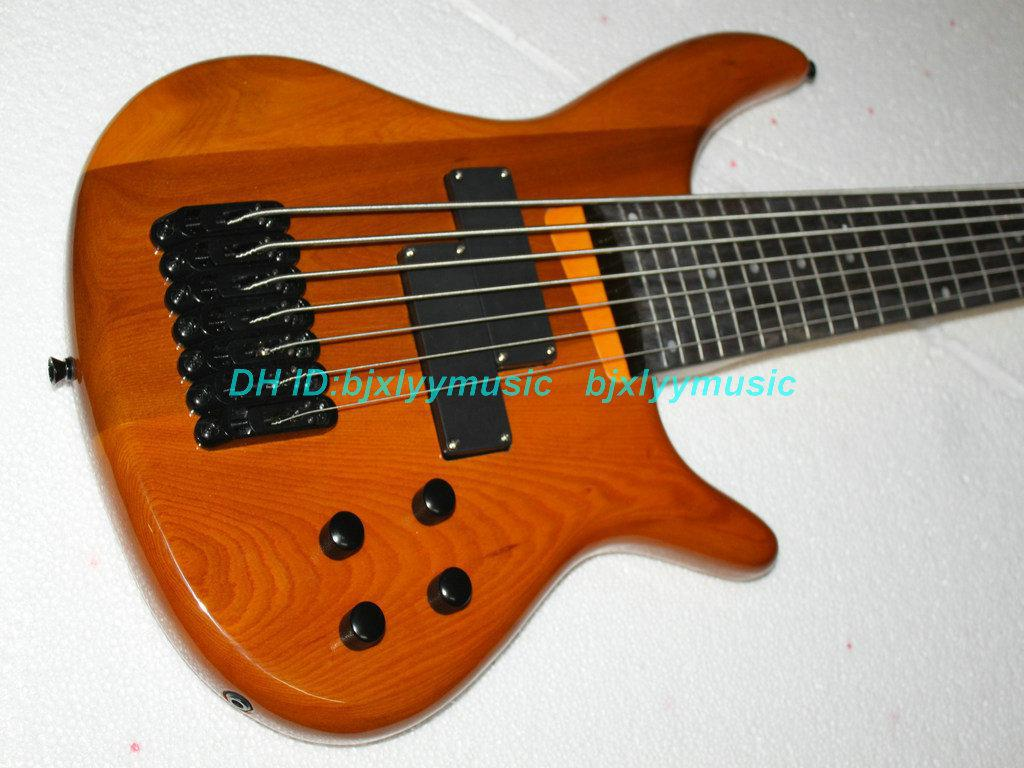 custom 7 strings bass guitar electric bass guitar wooden high quality bass guitar electric. Black Bedroom Furniture Sets. Home Design Ideas