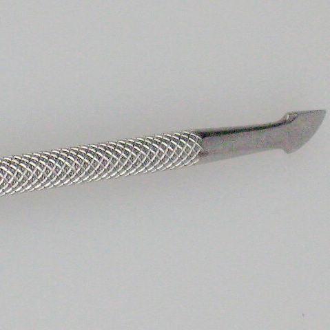 Cuticle Pusher Metal Round Rvs Professionele Senior Lepel 10 stks / partij Nagelreiniger Manicure Pedicare TTS-07 123 mm