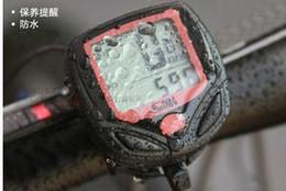 2019 computer fahrrad HOT Computer Kilometerzähler Thermometer LCD Fahrrad Zyklus rabatt computer fahrrad