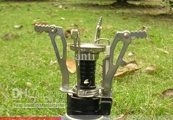 Mini estufa de camping de gas propano de butano de 3