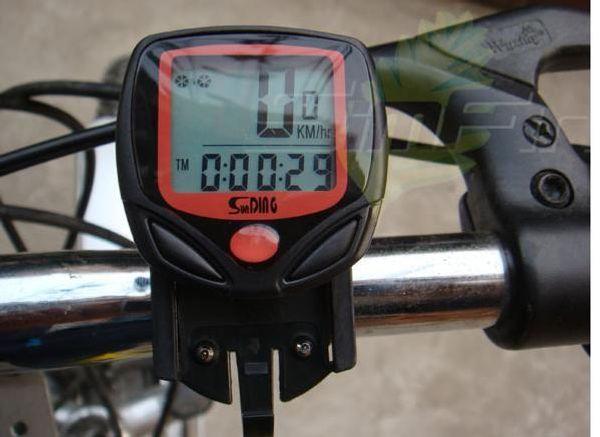 LCD Bisiklet Bisiklet Döngüsü Bilgisayar Kilometre Sayacı Kilometre Termometre