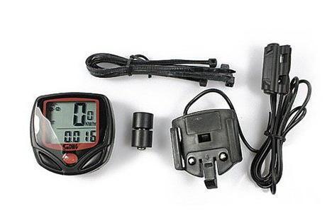 LCD Rower Rower Cyklu Komputerowy Prędkościomierz Termometr