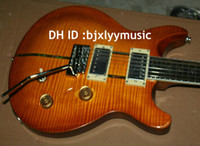 Wholesale Electric Santana - Best Selling Custom Shop 25th santana Honey burst 2 Pickup Electric Guitar OEM From China