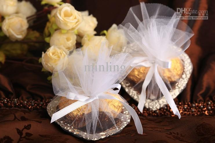 Heart Shape Wedding Candy Platewedding Gifts Packingwedding Favors
