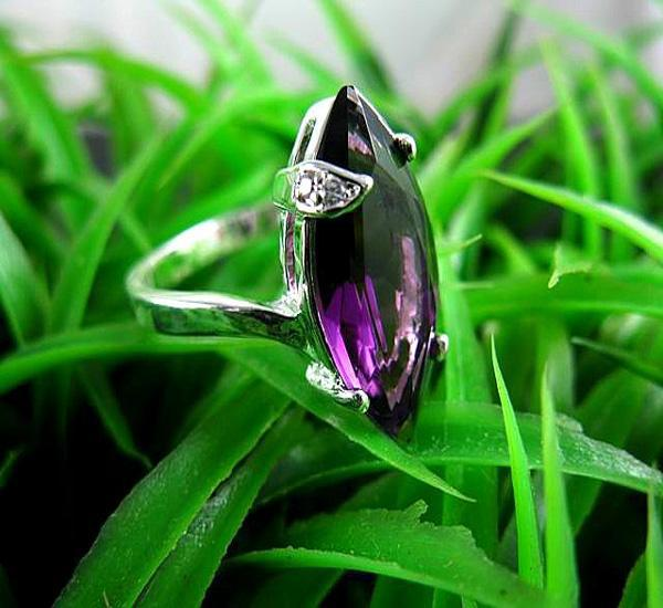 Mystic Ädelsten Ringar 925 Silver Fire Red Topaz Gemstone Ring Storlek 8