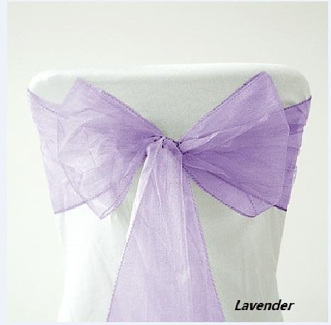 Lavender Chair Organza Sash Wedding Bridal Christmas Decorations Wedding Chair  Cover Fitted Chair Covers From Loveforever1314, $16.09| Dhgate.Com