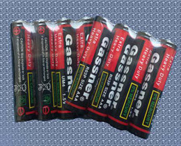 Wholesale Super Heavy Duty Batteries - 400pcs Lot, SGS ROHS AAA R03P 1.5v Carbon zinc battery, Super Heavy Duty