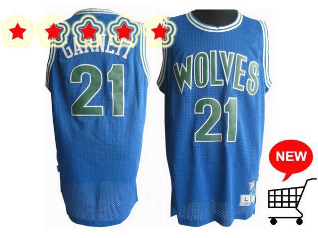 ecfc3fd0136 ... release date 2018 minnesota timberwolves jerseys 21 kevin garnett blue  soul swingman basketball jersey from chirstmas