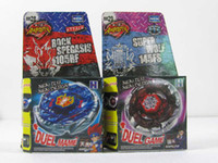 Wholesale Spin Top Launchers - Wholesale - 16 styles Rapidity Super Top Clash Metal Beyblade Without Launcher , Spinning Tops Toys