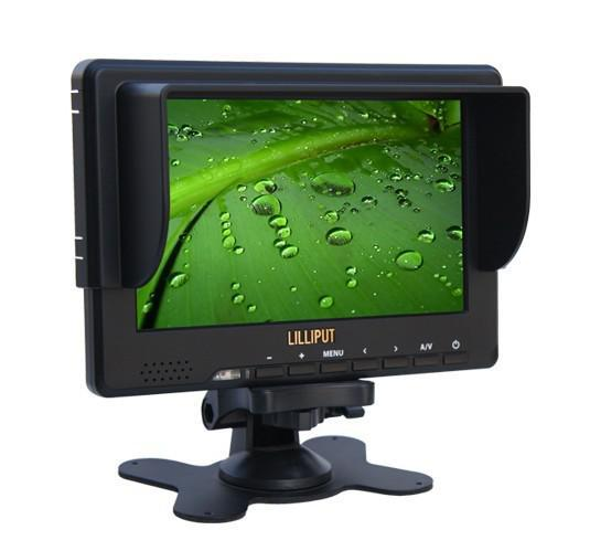 Lilliput Camera Monitor With HDMI YPbPr Input 7'' TFT Lcd 1920 x 1080 16:9 For HD Video Camera DV 667GL Free Gift