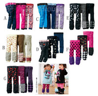 Wholesale Kids Shorts Tights - baby pants tights boys pants shorts tights kids trousers girls leggings nine-cent pant CL632