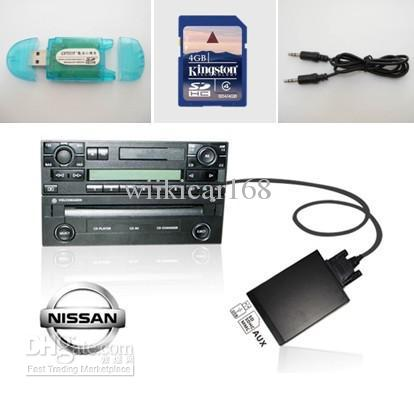 Car Mp3 Player With Usb/Sd/Aux Auto Mp3 Interface Adapter For Nissan ...