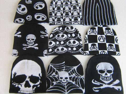 Nightmare Before Christmas Warm Ski Winter Hats A variety of colors Pattern Mixed
