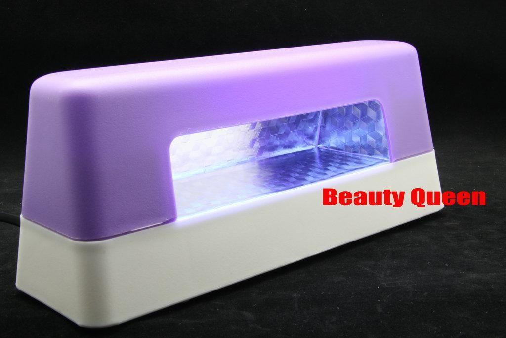 16 sztuk / partia 9W Lampa UV Lampa UV Światło UV do paznokci Art Gel UV CE * Darmowa wysyłka