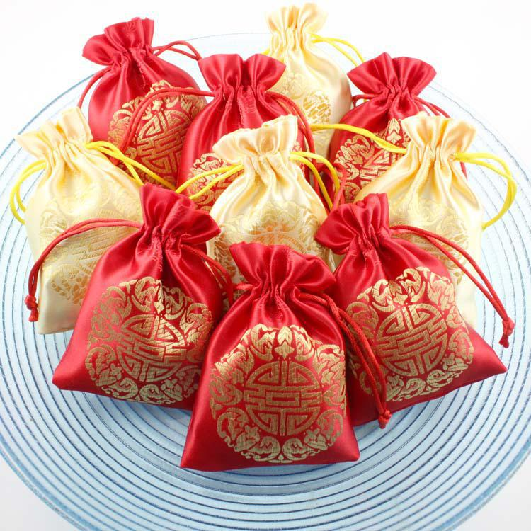 Small Gift For Wedding: Unique Wedding Party Favor Bags Thank You Bags Drawstring