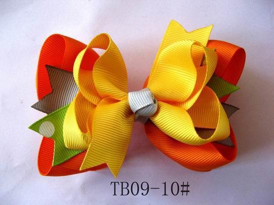 卸売 - 女の子の髪の美しいヘッドバンドが付いている髪の弓かぎ針編みのヘッドバンドのヘアアクセサリー/ロット