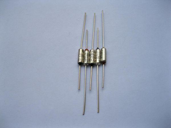top popular Microtemp Thermal Fuse 157C 172C 185C 192C 216C Cut-off 10A 250V 10 Pcs Per Lot 2021