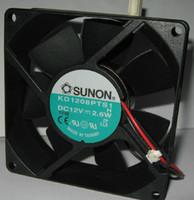 вентилятор 12v 2wire оптовых-Оригинальный SUNON 8025 12V 2.6W KD1208PTS1 2Wire Вентилятор охлаждения NMB 3610kl-07w-b59
