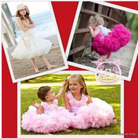 Wholesale Summer Toddler Girls Pettiskirts - 5pcs toddler Girls dress pettiskirt infant Baby tutu pettiskirts aqwe