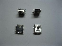 mini usb female socket 2019 - Mini USB Jack Female Connector 5pin SMT 180 Degree Used for Digital Products 1000 pcs per Lot cheap mini usb female sock