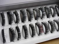 Wholesale Ordering Hair Extensions Wholesale - False Eyelashes Individual Fake Eye Lashes False Eyelash Extensions Mixed Order Makeup 50Box 500Pair Lot Free Shipping