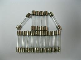 funda protectora de silicona para el istick eleaf Rebajas Fusibles de vidrio 6A 8A 10A 15A 20A 250V 6mm x 30mm Golpe rápido 100 piezas por lote