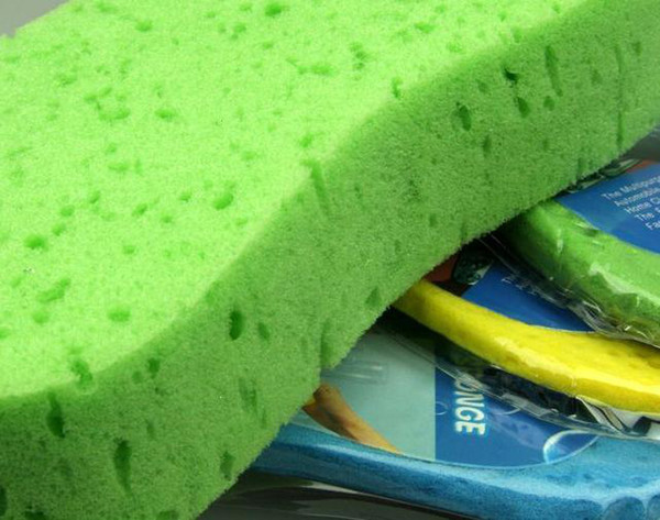 best selling (50pieces lot) Wholesale Auto Care Car Cleaning Sponge Car Wash Sponge Multifunction Home Clean Brush
