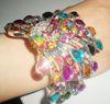 Armbandarmband-Schmucksache-Schmucksachen 20pcs / lot der Frauen Rhinestonearmband ARMBAND