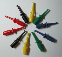 Новый 60 шт. за лот клип небольшой тест крюк клип для мультиметра 5 цветов от Поставщики различные виды