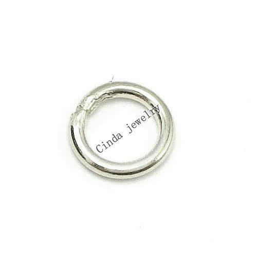 100pcs/lot 925 Sterling Silver Ring Accessory Findings Components For DIY Craft Jewelry Free Shipping W5106