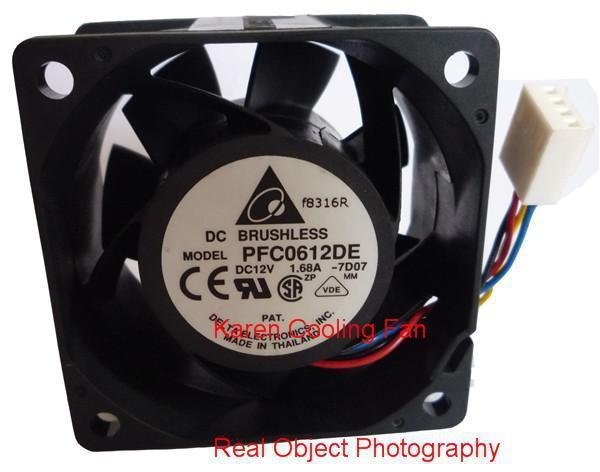 PMD2406PMB3-A 6CM 6038 12V 1.68A PFC0612DE Refroidisseur FAN radiateur